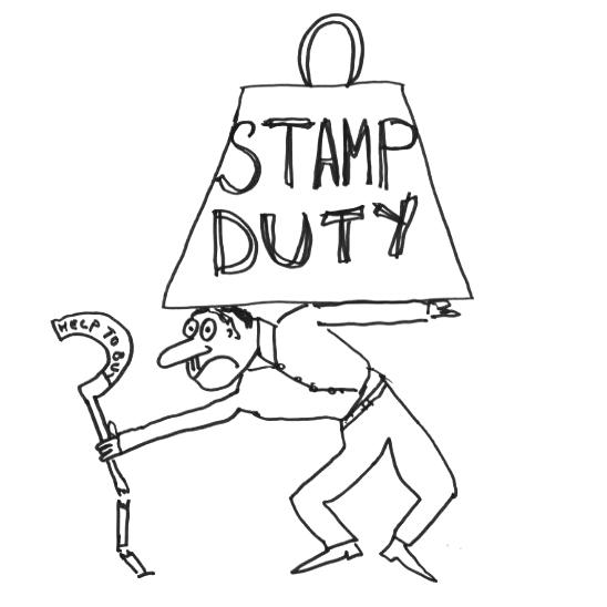 Stamp duty cut under £500k
